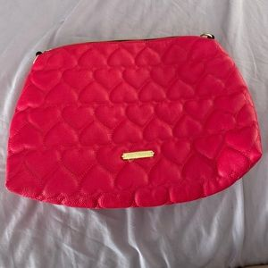 Betsey Johnson Quilted Cosmetic Bag